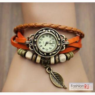 Часы Leaflet, янтарь (W42) в Ростове-на-Дону