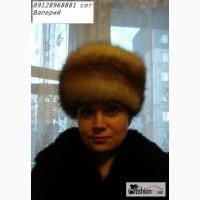 Продаю шапку-кубанку из куницы шили на заказ размер 57 в Челябинске