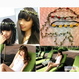 Цветочные повязки на голову для фотосесс в Краснодаре