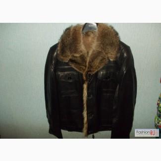 Купить Кожаную Куртку На Меху Мужские Киев