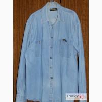 Мужская джинсовая рубашка 56 58 р Wrangler в Москве