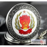 Карманные часы с эмблемой СССР в Новосибирске