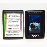 Зажигалка Zippo 239 Polar Bear