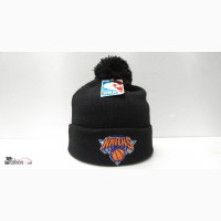 Шапка Knicks black flap pompon в Москве