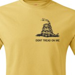 Футболка Gadsden and Culpeper - Dont Tread on Me Gold
