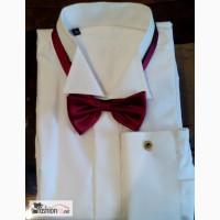 Рубашка белая новая CAMICIA в Ульяновске