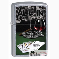 Зажигалка Zippo 78228 Royal Flush with Cigar