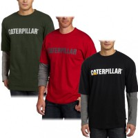 Футболка Caterpillar Mens Thermal Layered 3 цвета