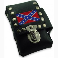 Сигаретный чехол Rebel Confederate Flag Biker Style