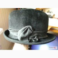 Новая шляпа из велюрового фетра р.55-56 Чехия классика в Челябинске