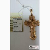 Крест золотой 16 грамм в Челябинске