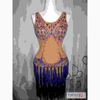 Продается красивое платье латина - молодежь-взрослые