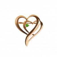 Ювелирные украшения с уральским зелёным гранатом – демантоидом от производителя