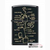 Зажигалка Zippo Anatomy of Lighter