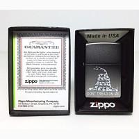 Зажигалка Zippo 29841 Dont Tread on Me Flag Snake