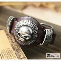Кожаный браслет Harley Davidson, RМ72 в Ростове-на-Дону