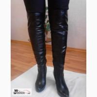 Сапоги-ботфорты россия-италия женская обувь в Кемерово