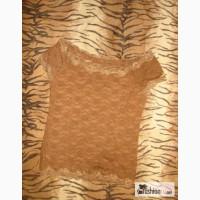 Кружевная блуза кофточка обтягивающая в Челябинске