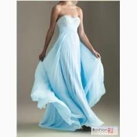 Вечернее, шифоновое платье