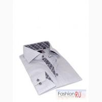 Рубашка Texture Stripe Shirt Brio Milano рубашка в полоску в Москве