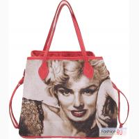 Женская сумка из гобелена Монро