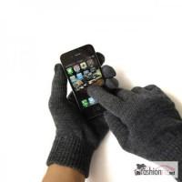 Перчатки Weskent Gloves Black с токопроводящей нитью для iPhone/iPad/iPod