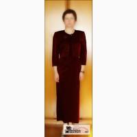 Нарядное платье индивидуальный пошив платье темно-вишн. в Екатеринбурге