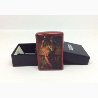 Зажигалка Zippo 2424 Anne Stokes Dragon in Stocking