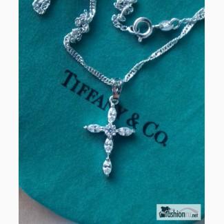 Подвеска Крестик Zirconia Tiffany Style в Ростове-на-Дону