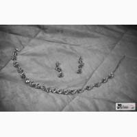 Ожерелье и сережки (на свадьбу) в Чебоксарах