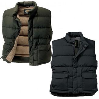 Пуховый жилет Cabelas Fleece-Lined Down 2 цвета