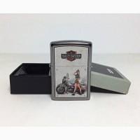 Зажигалка Zippo 9939 Harley Davidson Military US Army