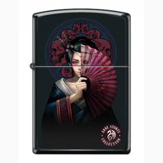 Зажигалка Zippo 46839 Anne Stokes Geisha Girl