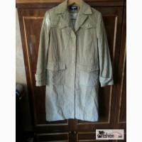 Пальто новое вельветовое р. 46 бежевое Эрга Original в Санкт-Петербурге