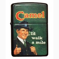 Зажигалка Zippo Camel CZ 050 I d Walk A Mile