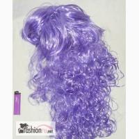 Фиолетовый парик. Длинные волосы. в Москве