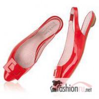 Модные лаковые босоножки туфли, производство Швеция