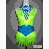 Продаю платье для танцев - яркая латина Ю2