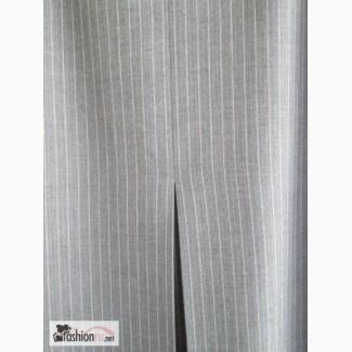 Стильная юбка серая в полоску, р.48, ФРГ пр-во Германия в Краснодаре
