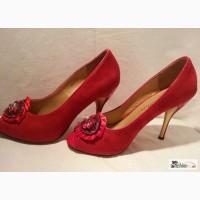 Туфли новые красные модельные р.38 Sola Rita в Санкт-Петербурге