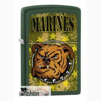 Зажигалка Zippo 221 USMC Bulldog
