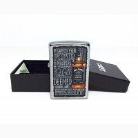 Зажигалка Zippo 1601 Jack Daniels Tennessee Whiskey Old No. 7