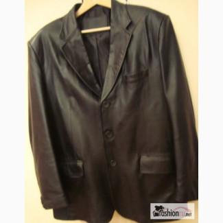 Кожаный пиджак размер 50-54 в Омске