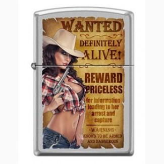 Зажигалка Zippo 206 Wanted Country Girl 2