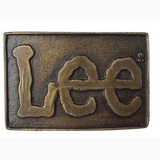 Пряжка Lee Vintage Belt Buckle 1970s
