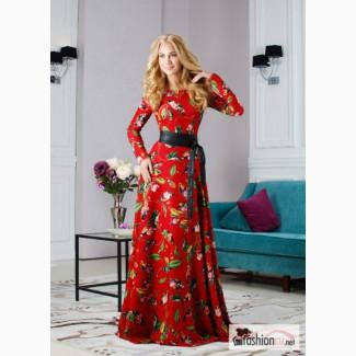 Длинное Осеннее Платье Купить
