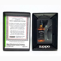 Зажигалка Zippo 1427 Jack Daniels Tennessee Whiskey Old No. 7 Black Matte