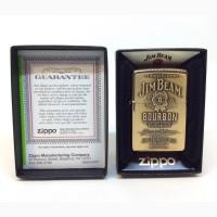 Зажигалка Zippo 254BJB 929 Jim Beam Brass Emblem