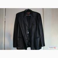 Кожаный пиджак мужской в Иркутске