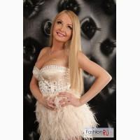 Платье с перьями!!! Отпад
